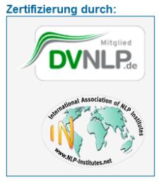 Zertifizierung DVNLP